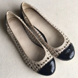 Cole Haan / Nike Air open weave flats size 7
